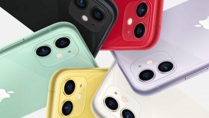 Barevné varianty iPhone 11