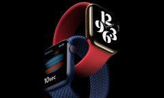 Chytré hodinky Apple Watch 6 s látkovým řemínkem