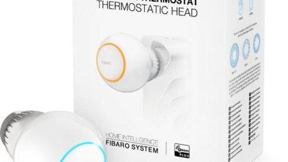 Balení termostatické hlavice Fibaro