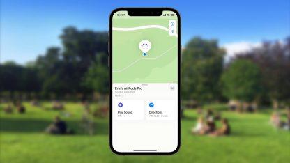 V iOS 15 lze dohledat ztracené AirPods