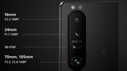 Fotoaparát telefonu Sony Xperia 1 III
