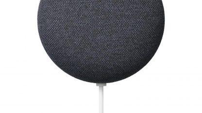 Google Nest Mini 2 v černé barvě