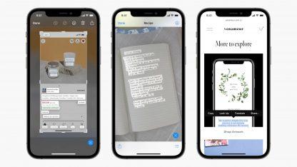 Nová funkce Live Text v iOS 15