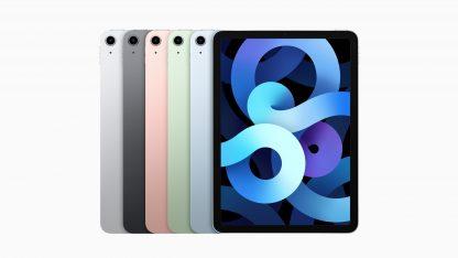 Barevné varianty tabletu iPad Air