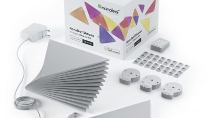 Obsah balení Nanoleaf starterkit