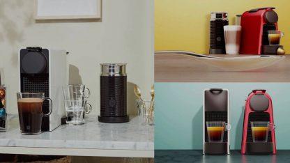 Kapslový kávovar Nespresso De'Longhi Essenza Mini EN 85.B