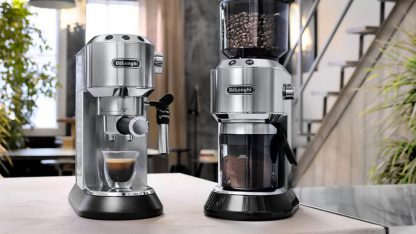 Elegantní pákový kávovar De'Longhi Dedica Style EC 685.M
