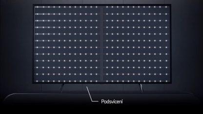 Detail podsvícení LCD televizí