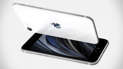 iPhone SE 2020 v bílé barvě