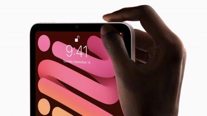 ipad mini (2021) disponuje touch id v horním tlačítku