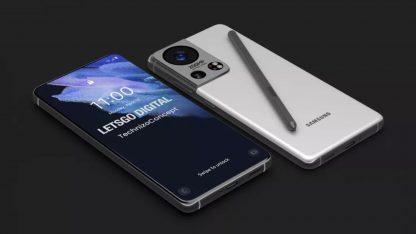 Koncept Samsungu Galaxy S22 Ultra