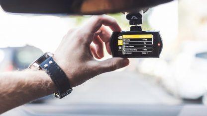 Nastavování kamery do auta